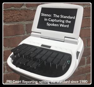 Steno machine standard