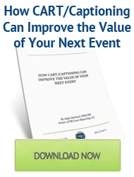 Improve Event Value with CART/Captioning
