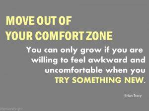 Image comfort zone